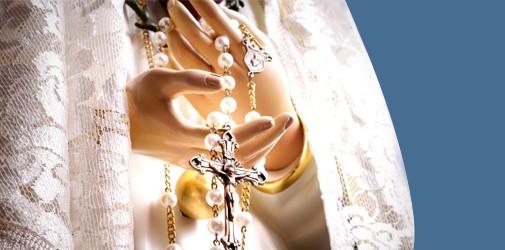 O Rosário é contemplar com Maria o Rosto de Cristo