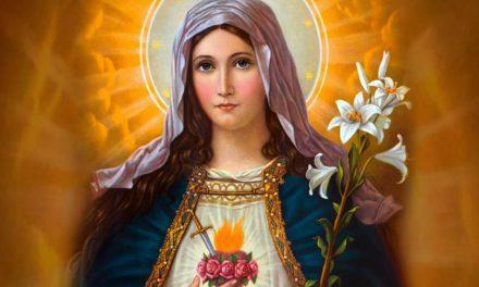 1º Dia: Tríduo em honra ao Imaculado Coração de Maria