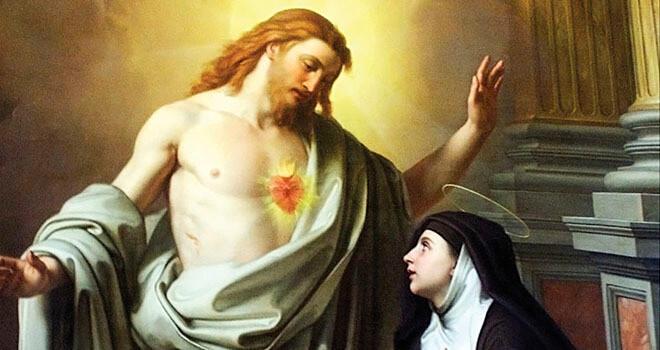 O Coração de Jesus me conquistou
