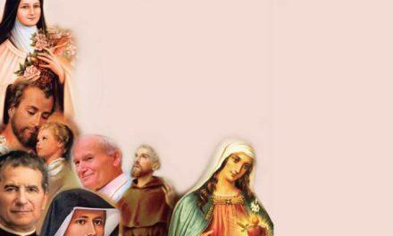 Sete Santos intercedem pela Comunidade Coração Fiel
