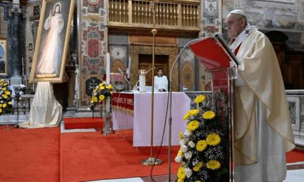Papa Francisco na Festa da Misericórdia