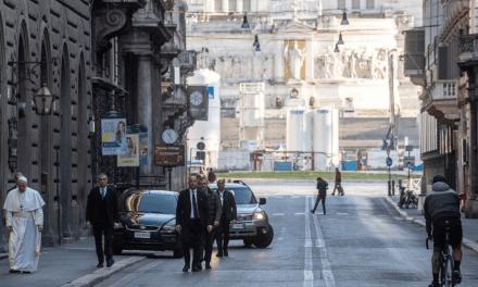 Roma completa 2773 anos! O carinho do seu Bispo, Papa Francisco