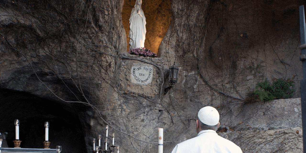 Una-se ao Papa para a oração do Terço nos Jardins Vaticanos