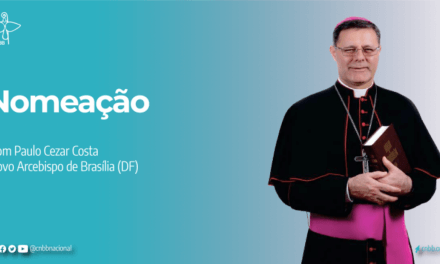 Dom Paulo Cezar Costa é o novo arcebispo de Brasília