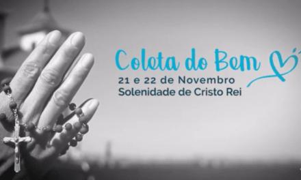 """""""Coleta do Bem"""" pede gesto concreto com evangelização e mais pobres"""