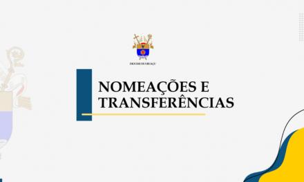 Dom Giovani Carlos faz transferências e nomeações na Diocese de Uruaçu