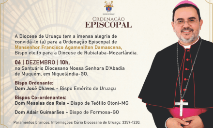 Ordenação Episcopal do Mons. Francisco Agamenilton