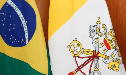 Núncio no Brasil apresenta suas credenciais