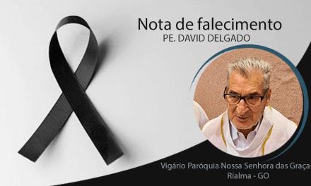 Nota de pesar pelo falecimento do Pe. David Delgado