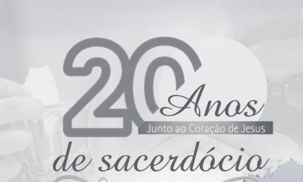 20 anos de sacerdócio