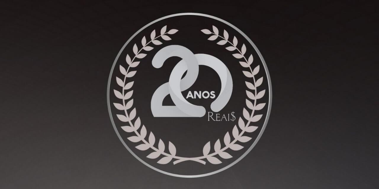 20 anos 20 reais