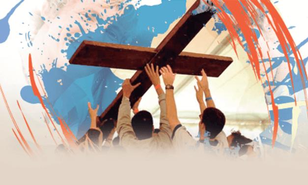 A Cruz e o jovem sinal de escolha por Cristo