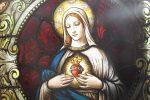 Família em Londres recebe a Imagem do Sagrado Coração de Jesus