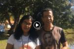 Coração Jovem na Praça Cívica de Ceres